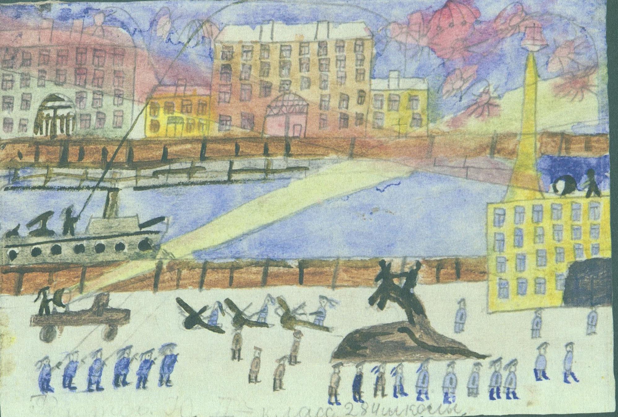 кого иллюстрации к блокадному ленинграду коттеджном